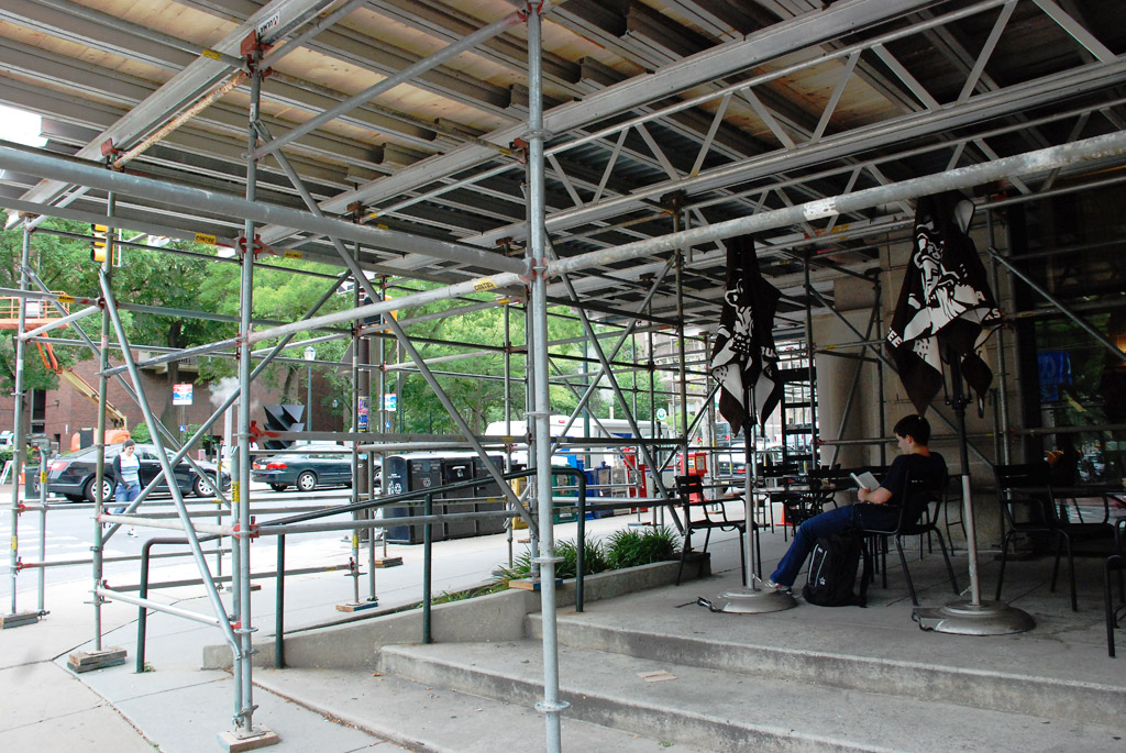 Suspended Scaffolding Universal : Swing stage scaffold