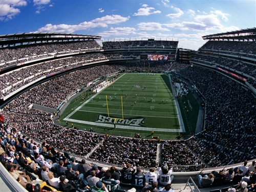Superior Scaffold Helps The Philadelphia Eagles Go Green