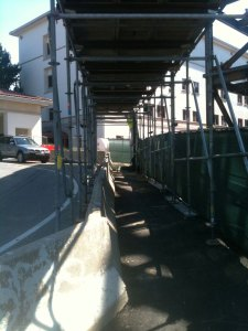 canopy, sidewalk shed, scaffold rental, scaffolding rental, PA, DE, NYC, NJ