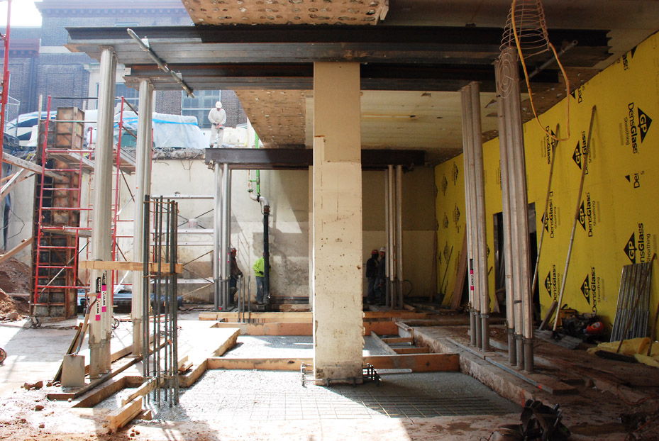 Shoring Up A Floor : Shoring up the aaa mid atlantic headquarters building