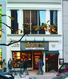 Holt's Cigar Company, front-walnut-st