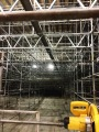 'Scuse me while I kiss the sky – Scaffolding the New Dover High SchoolAuditorium