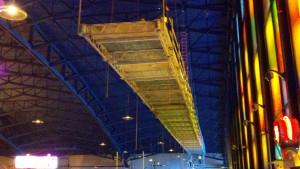 Seneca Niagara Casino, scaffold rental, scaffolding rental, superior scaffold, platform 2